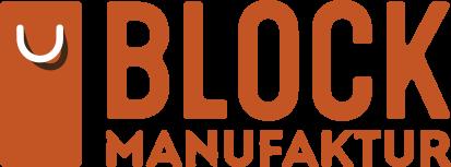 Blockmanufaktur Retina Logo